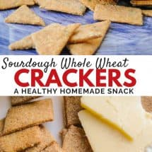 Whole Wheat Sourdough Cracker Recipe