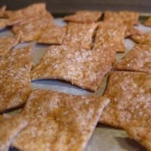 Sourdough Recipes Galore: Whole Wheat Crackers
