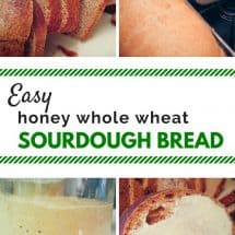 Honey Whole Wheat Sourdough Bread Recipe