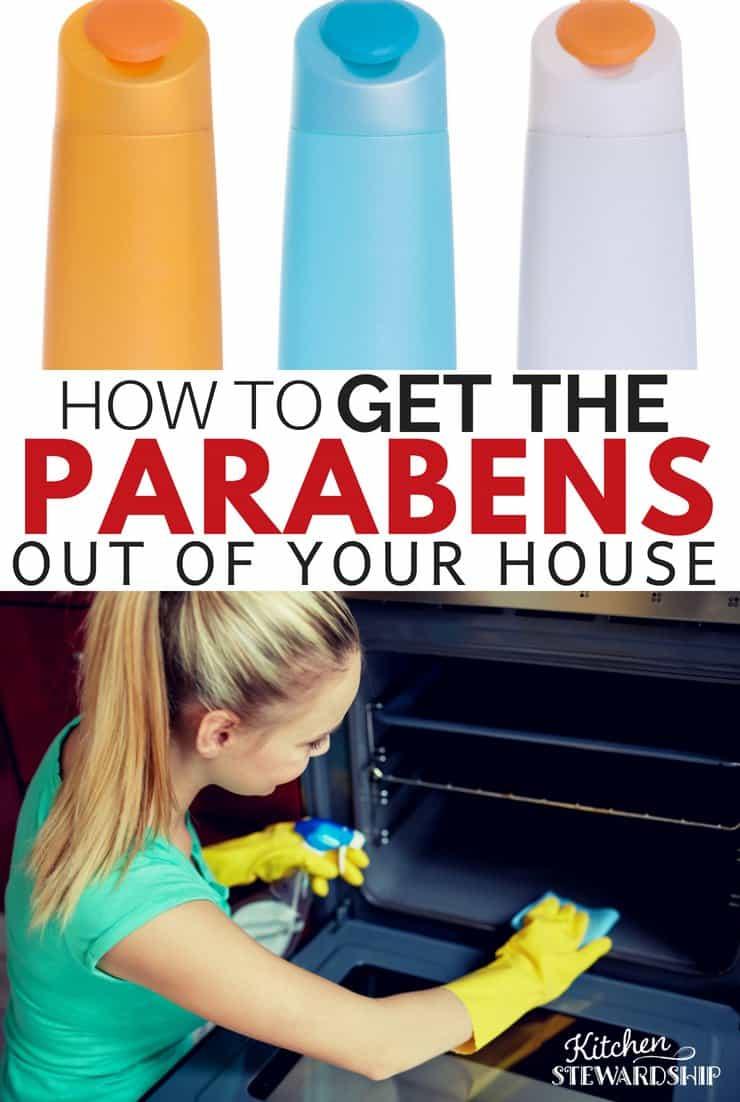 Get rid of parabens