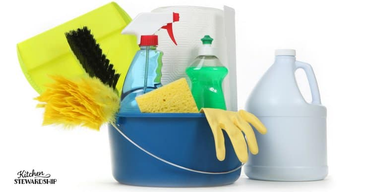 Get rid of parabens in cleaning products