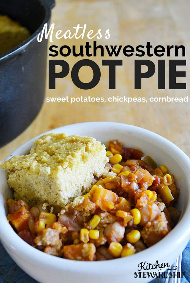 Meatless Southwestern Pot Pie