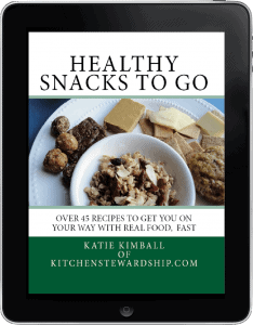 Healthy Snacks To Go on iPad - over 45 healthy snack recipes!