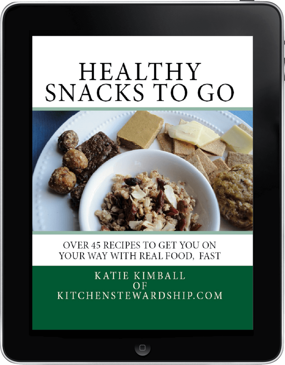 Healthy Snacks To Go on iPad