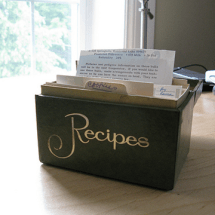 Works for Me Wednesday: How to Organize Seasonal Recipes