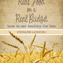 You could win Real Food on a Real Budget