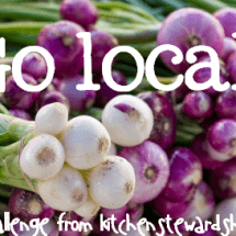 Monday Mission: Buy Local Produce