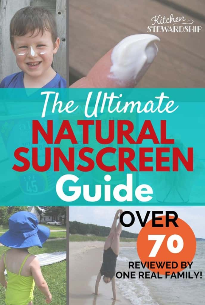 Wondering what the best natural mineral sunscreen is? Our family adds more very year to our massive review, and we know what works!