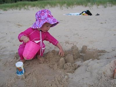 nantucket sun suit at beach