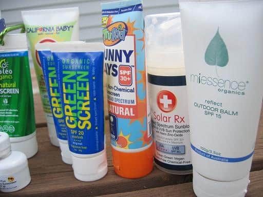 All Natural Sunscreen Reviews :: via Kitchen Stewardship