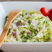 In-Season Recipe Connection: Cabbage Salad with Goat Cheese