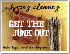 SPRING CLEANING BUTTON
