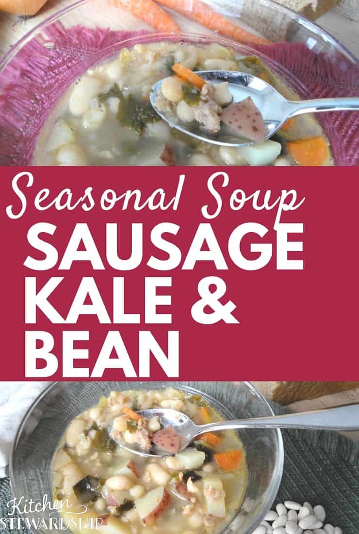 Sausage Kale and Bean Soup Recipe