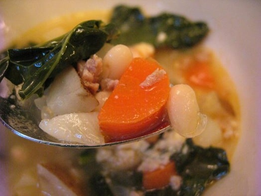 sausage beans and kale soup (5)