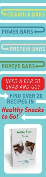 Buy Healthy Snacks to Go eBook Recipes Online