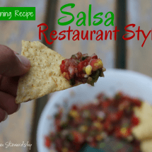 In-Season Recipe Connection: Katie's Canned Salsa