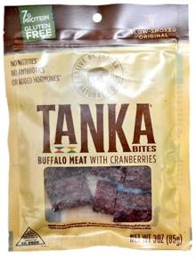 Buffalo Cranberry Tanka Bites Review