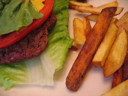 hamburgers without buns