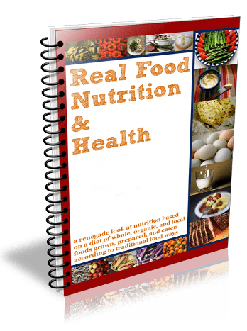Real Food Nutrition & Health Curriculum Textbook REVIEW