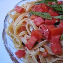 In-Season Recipe Connection: Tomato Basil Pasta Salad