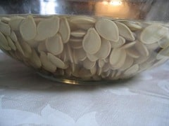 soaked pumpkin seeds