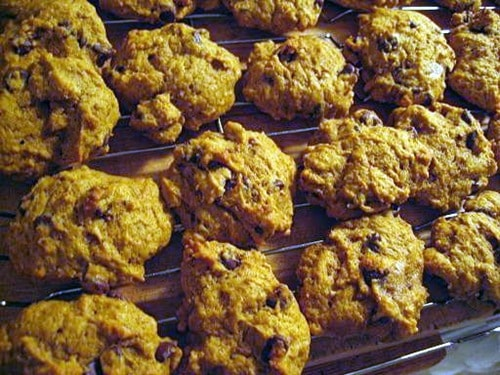 Easy, Healthy Pumpkin Cookies
