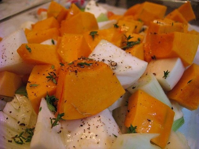 Recipe roast parsnips turnups