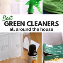 Clean with Green from Floor to Ceiling