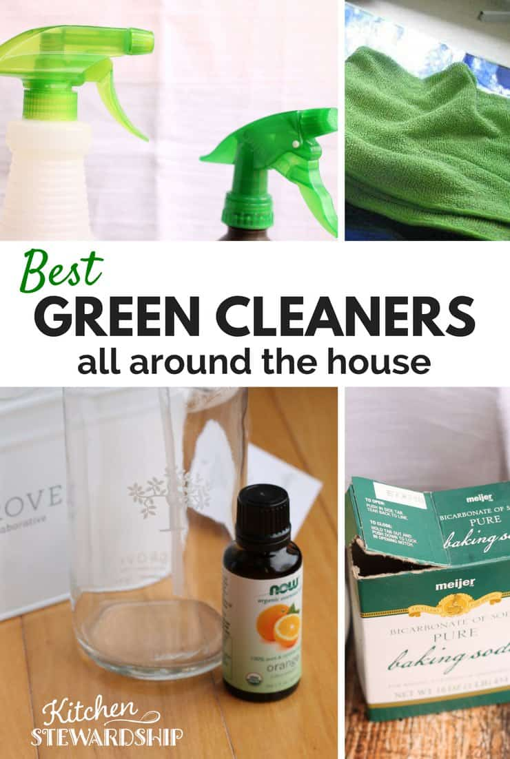 Best natural green cleaning household solutions