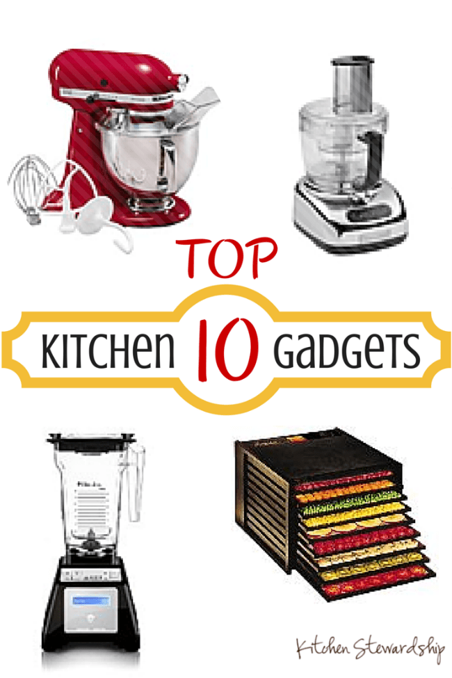 10 Kitchen And Home Decor Items Every 20 Something Needs: Top 10 Kitchen Gadgets For Your Wish List