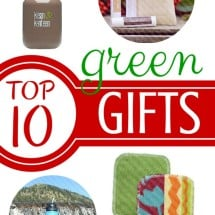 Top 10 Green Gifts this Season