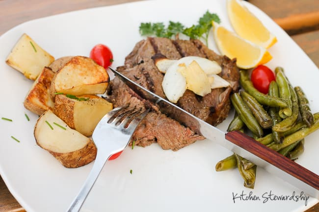 Beef is a wonderful food source of omega-3 fats, iron, protein, and B vitamins during pregnancy