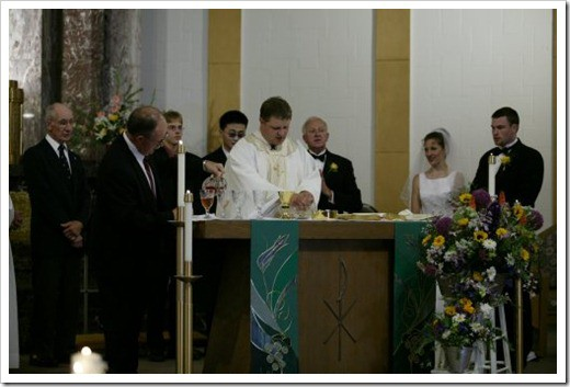 mass - Eucharist with ministers