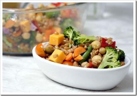 spelt salad GR Press
