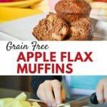 Gran-Free Apple Flax Muffins