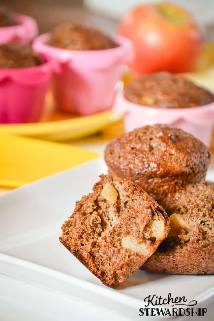 A grain free muffin recipe that you won't need fancy ingredients to make. Flax is the start player in this gluten free and delicious treat.
