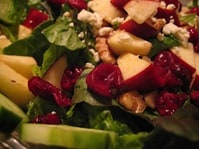 Christmas salad - smaller