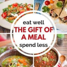 Eat Well, Spend Less: The Gift of a Meal