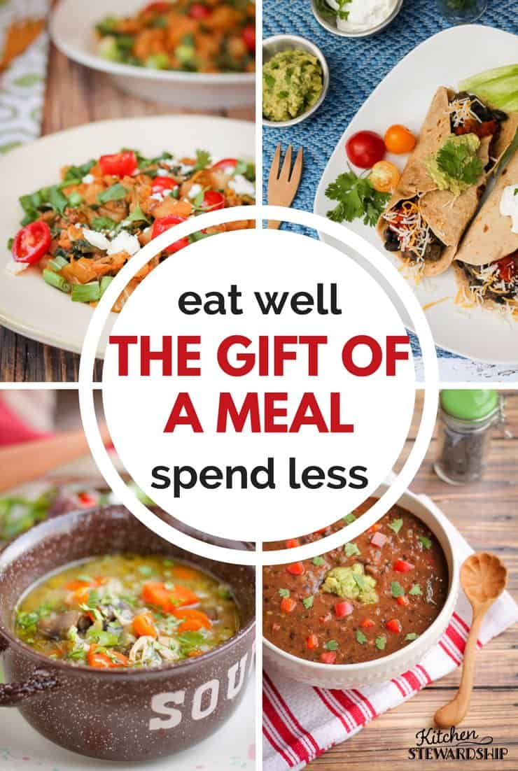 Eat well spend less the gift of a meal