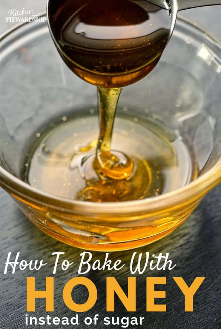 No need to give up on sweets just because you don't want to eat sugar. I'll tell you how to swap honey!