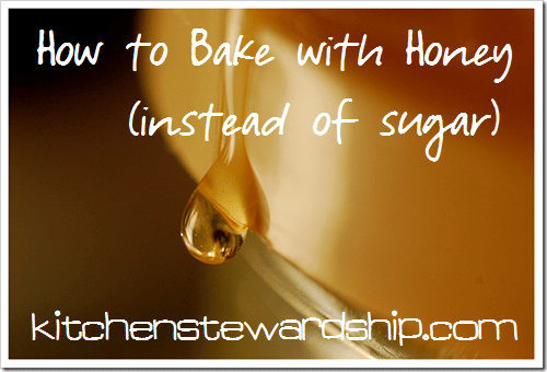 How to Bake With Honey Instead of Sugar