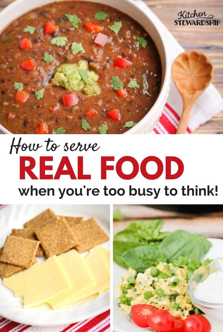 What to eat when you re too busy to think