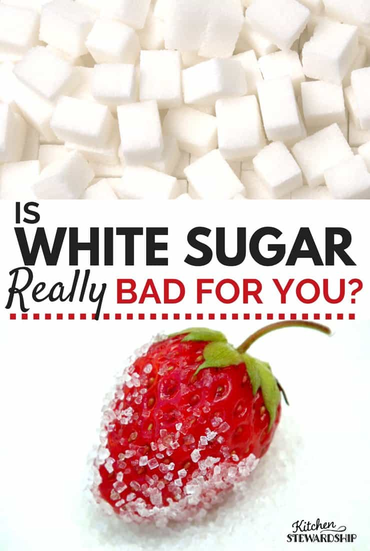 Is White Sugar Bad For You?
