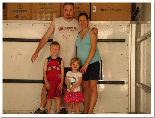 family in uhaul