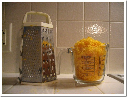 grated cheese at home
