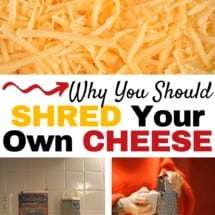 Monday Mission: Shred Your Own Cheese