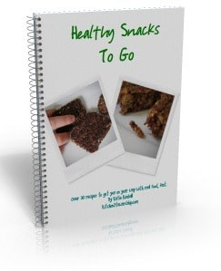 Healthy Snacks to Go book cover