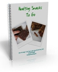 BOOK COVER Healthy Snacks To Go smaller