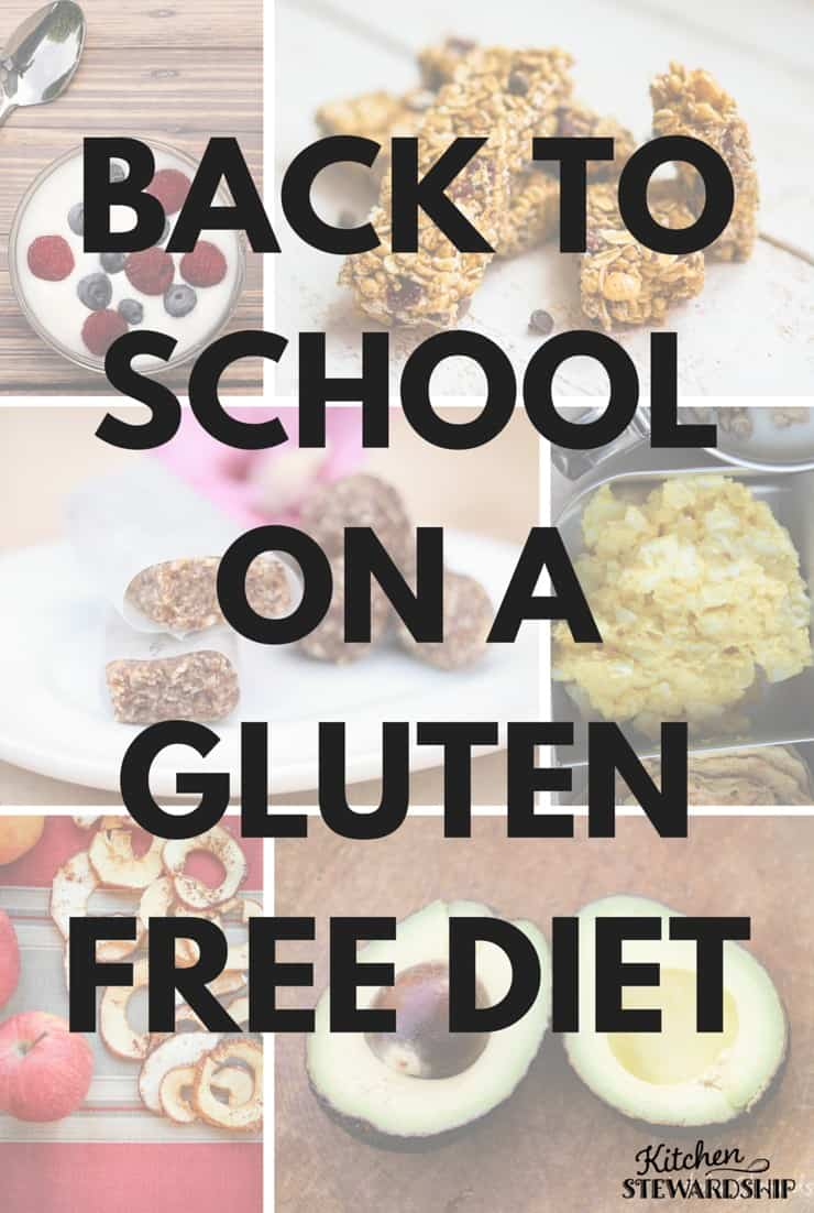 Back to school on a gluten free diet