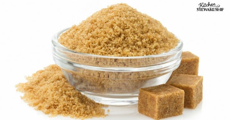 Coconut sugar and palm sugar